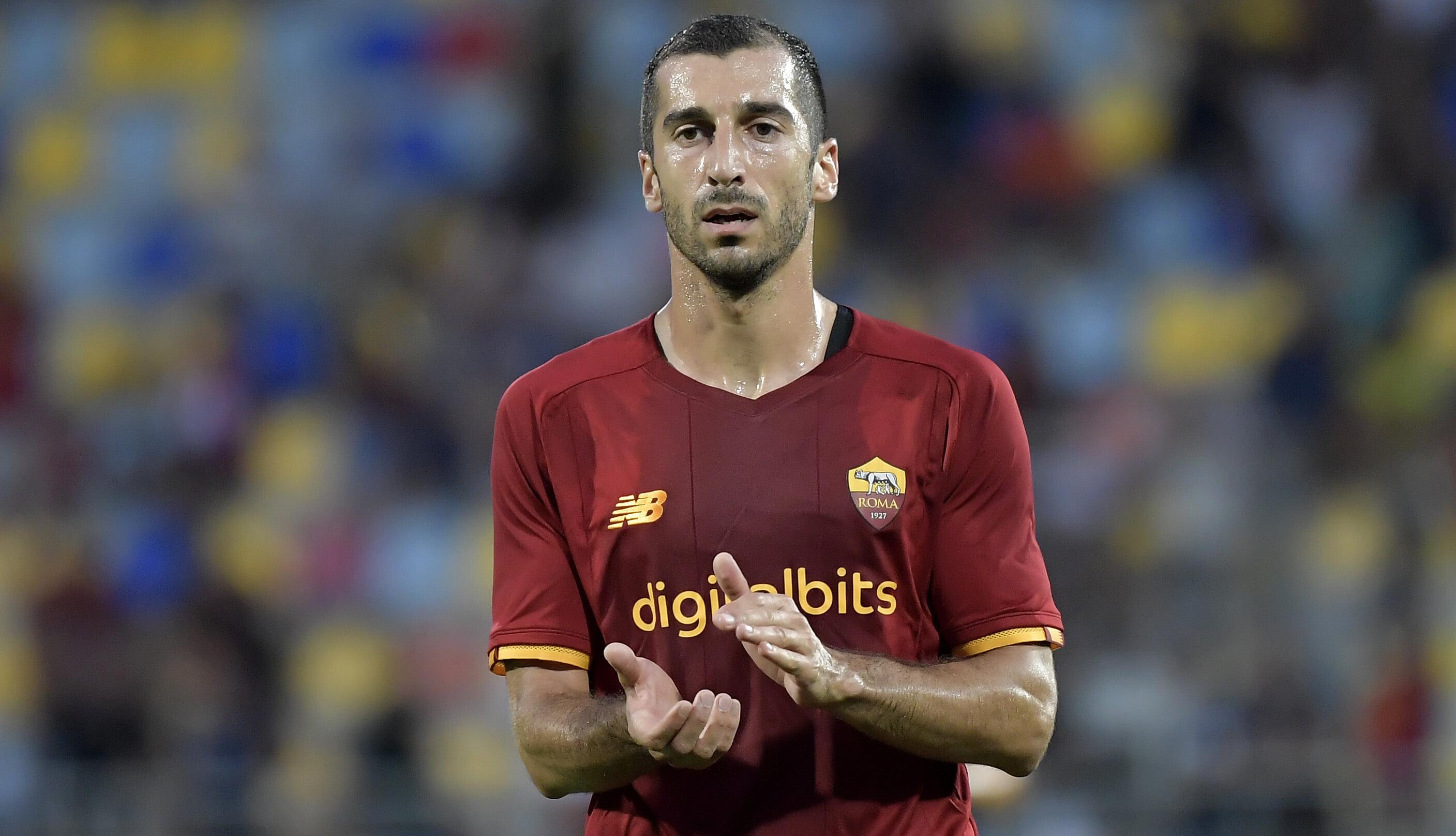 Мхитарян забил первый гол Ромы в Серии А при Моуринью. У Абрахама ассист в дебютном матче