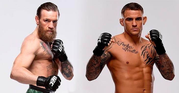Конор Макгрегор против Дастина Порье. Онлайн реванша и UFC 257