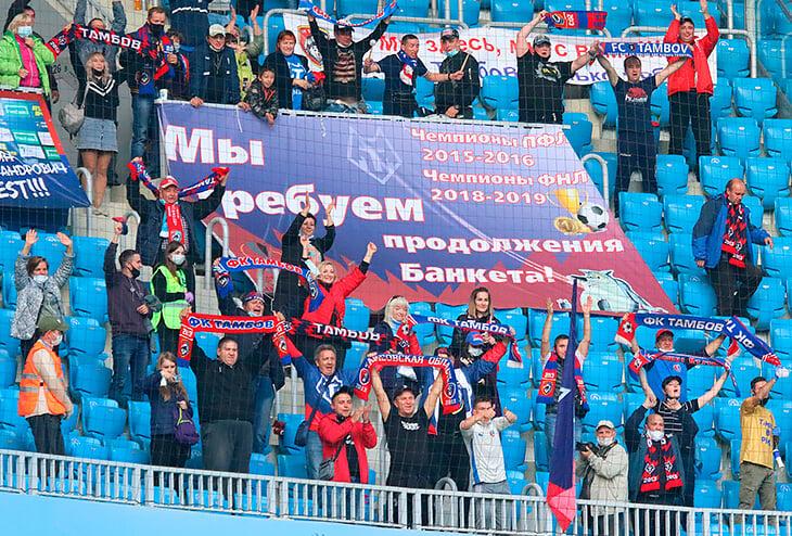 Как именно выживет «Тамбов»: доиграют сезон на 120 млн рублей, другие клубы дадут игроков и будут сами им платить