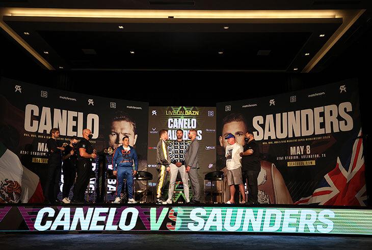 Бой Канело и Сондерса восхищает заранее. Боксеры – шикарная оппозиция друг для друга, трэшток бешеный, придут 70 тысяч фанатов