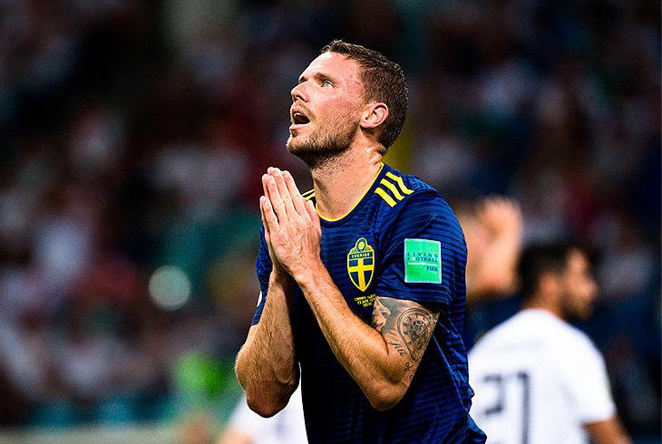 Сборная Швеции по футболу, Маркус Берг, ЧМ-2018