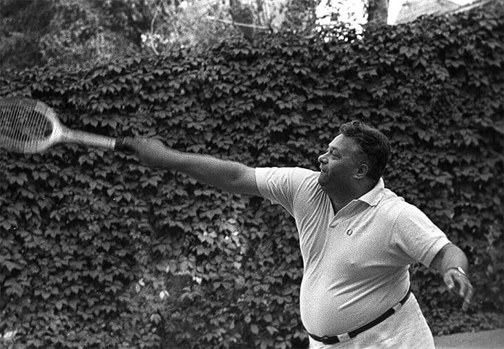 «Из этого толстяка выйдет толк». Великий комментатор Николай Озеров – большой теннисист: 24 раза брал чемпионат СССР и пугал соперников тюбетейкой