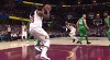 LeBron James with the nice dish vs. the Celtics
