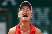 Ролан Гаррос, Каролин Возняцки, WTA