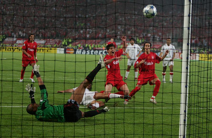 Милан, Ливерпуль, Лига чемпионов УЕФА, болельщики, фото, Олимпийский стадион Ататюрка