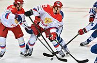 Кубок Первого канала: Россия забросила 8 шайб финнам