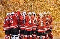 сборная Канады, сборная Финляндии, Билл Питерс, Брэд Маршанд, ЧМ-2016, Майк Мэтисон, Коннор Макдэвид, Кэм Тэлбот, Патрик Лайне