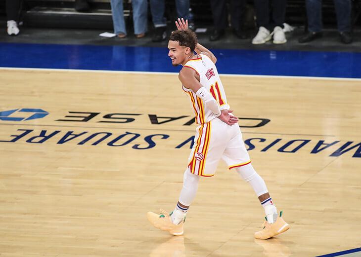 Трэй Янг выиграл первую серию раньше Дончича. Доказал, что будет суперзвездой НБА
