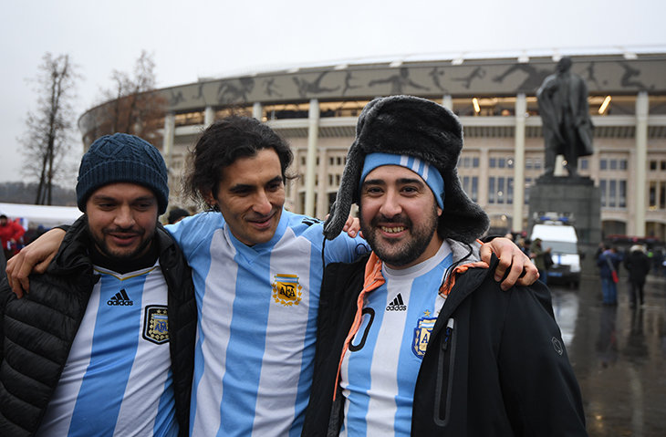 Для аргентинских футболистов кЧМ-2018 выпустили инструкцию пособлазнению россиянок