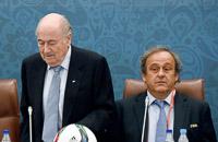 УЕФА, Мишель Платини, дисквалификации, ФИФА, Йозеф Блаттер