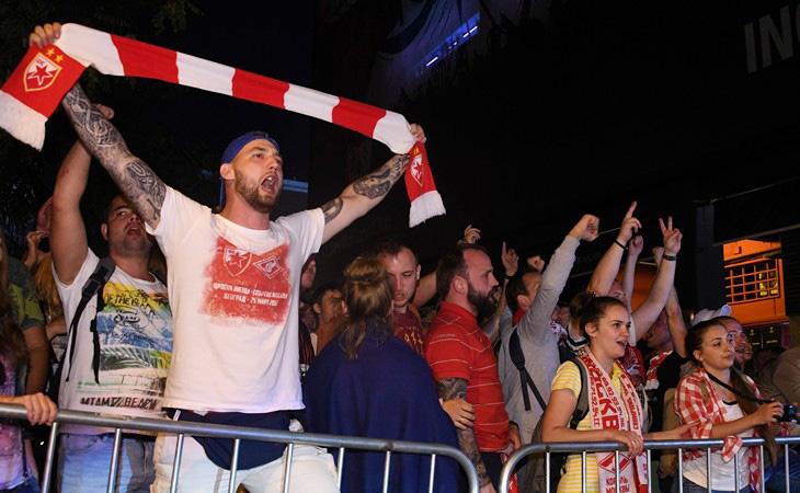 «Севилья» открыла дело против пятерых болельщиков перед матчем со«Спартаком»