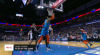 Dennis Schroder with one of the day's best assists