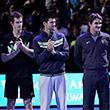 Роджер Федерер, Рафаэль Надаль, Новак Джокович, Энди Маррей, ATP