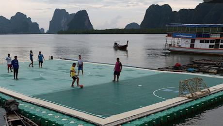 Самые эпичные футбольные поля в мире