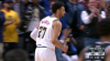 Jamal Murray hits the shot with time ticking down