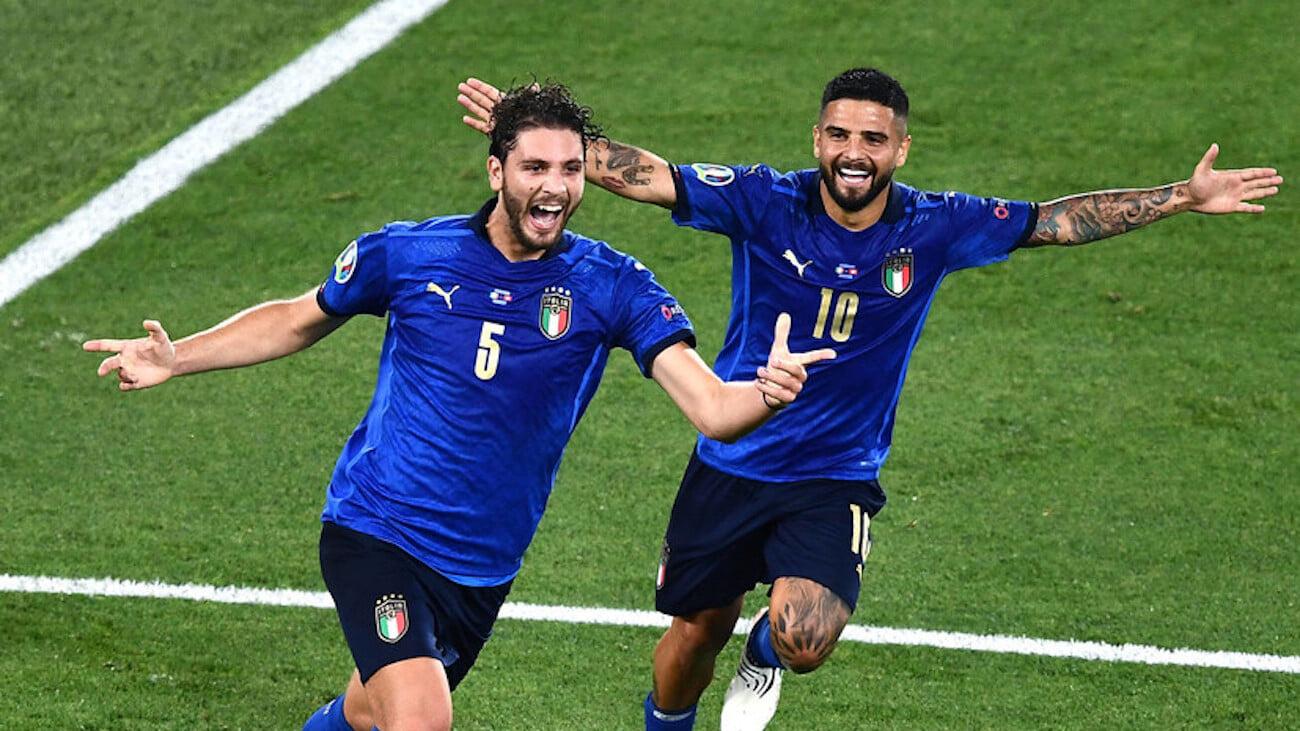 Италия с общим счетом 36:2 выиграла 13 матчей подряд