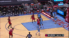 Danuel House Jr. gets it to go at the buzzer