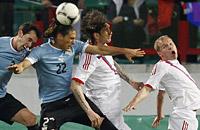 товарищеские матчи (сборные), Сборная Уругвая по футболу, фото, Сборная России по футболу