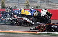 Самые сочные аварии в «Формуле-1» в 2015 году