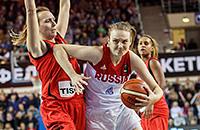 сборная России жен, сборная Швейцарии жен, Евробаскет-2017 жен