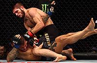 Обзор боя Хабиб – Порье на UFC 242