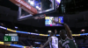JaMychal Green goes up to get it and finishes the oop