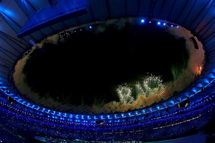 Рио-2016, открытие