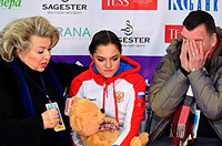 Такую растерянную Медведеву вы не видели никогда: она 14-я после короткой на России