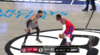 Reggie Jackson shows off the vision for the slick assist