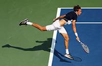 Давид Гоффен, ATP, Western & Southern Open, Даниил Медведев