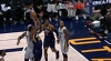 Alec Burks with one of the day's best dunks