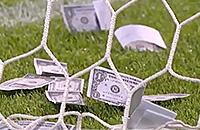 Болельщики забросали Доннарумму фальшивыми долларами во время матча
