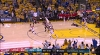 Draymond Green with the rejection vs. the Trail Blazers