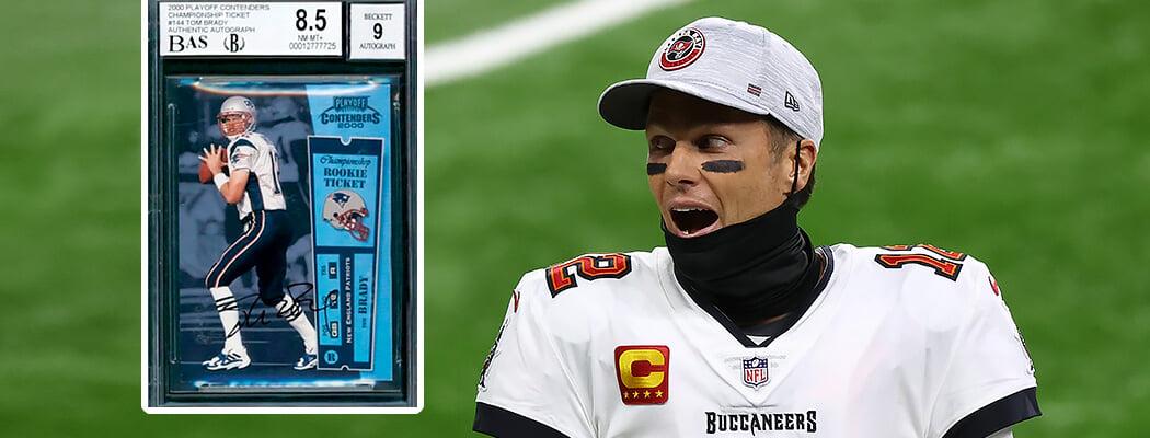Карточку с легендарным Томом Брэди продали за рекордную сумму: что особенного в кусочке картона за 3,1 млн долларов?