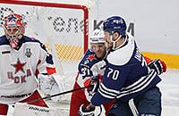 ЦСКА вырвал победу у «Динамо» на последней минуте матча. 3-1 в серии