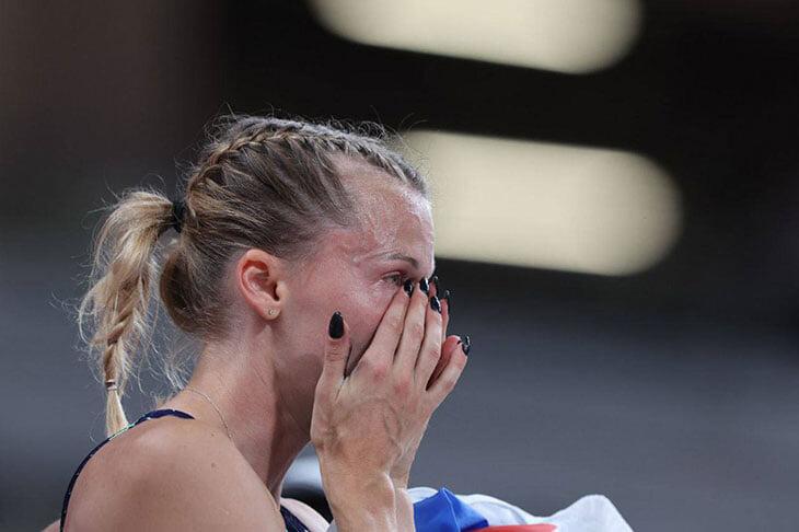 сборная России жен, Анжелика Сидорова, прыжки с шестом, Олимпиада-2020, Кэти Наджеотт