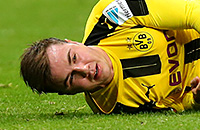 Марио Гетце, травмы, Сборная Германии по футболу, бундеслига Германия, Боруссия Дортмунд, Бавария