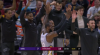 Jose Calderon scores off the great dish by LeBron James