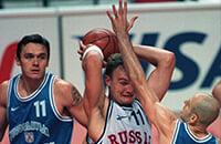 Россия победила США, но проиграла Югославии из-за неудобного кроссовка. За финал ЧМ-1998 все еще больно