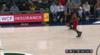 Russell Westbrook throws down the alley-oop!