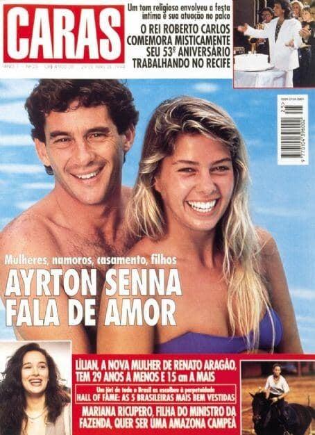 Последняя любовь Айртона Сенны: Playboy с ней на обложке разлетался миллионными тиражами