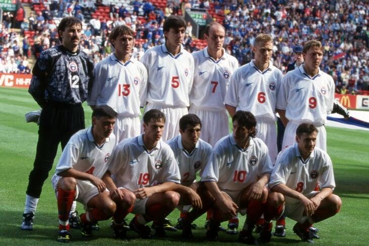 Россия на Евро-96 – сплошные скандалы. Легионеры (якобы) требовали больше денег, Кирьяков грубо отказался выходить на замену