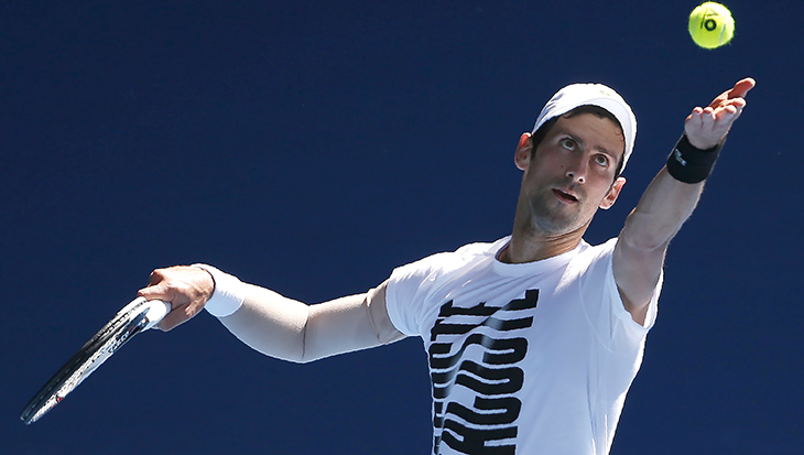 Australian Open, ATP, Новак Джокович