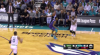 P.J. Washington Blocks in Charlotte Hornets vs. Boston Celtics