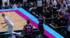 Domantas Sabonis slams it home