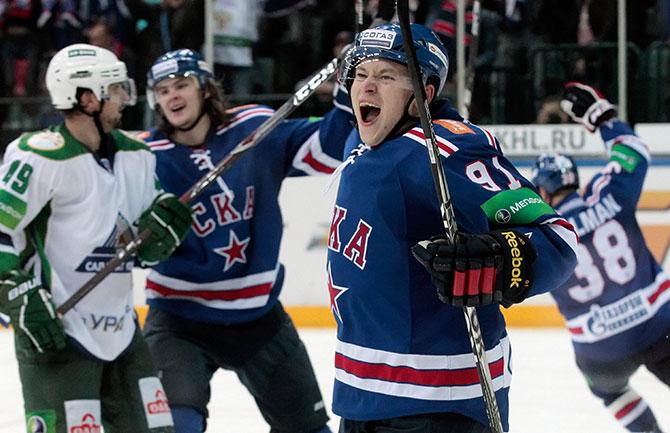 Русская десятка НХЛ. Неделя 2