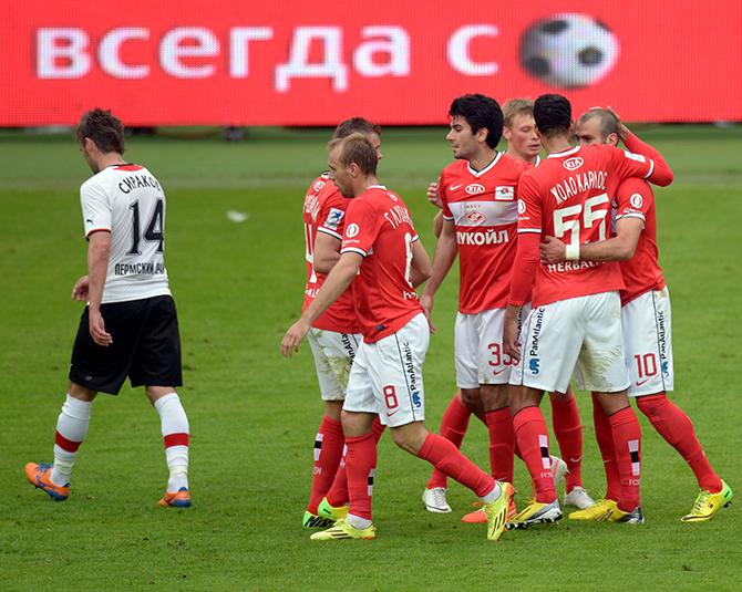 Спартак, премьер-лига Россия