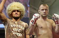 Хабиб Нурмагомедов, Александр Шлеменко, MMA, UFC, смешанные единоборства