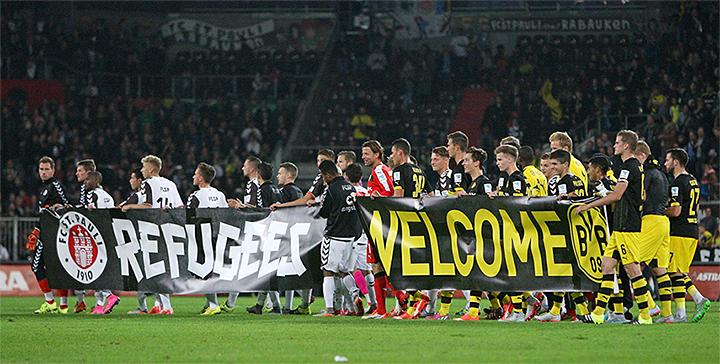 St. Pauli - Borussia Dortmund Refugees Welcome