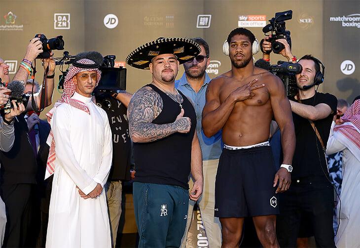 Реванш Джошуа – Руис: онлайн-трансляция вечера бокса в Саудовской Аравии